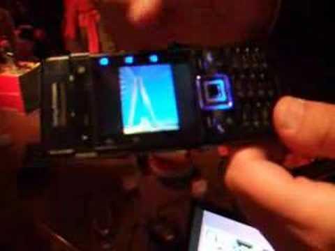 Démo & présentation Sony Ericsson C902