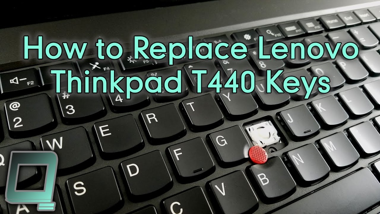 How to Replace Lenovo Thinkpad T440 Keys