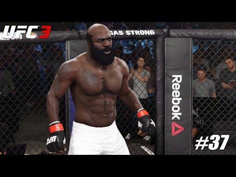 EA Sports UFC 3 - PS4 Pro 1080p 60fps Match / Kimbo Slice Vs Dana White #37