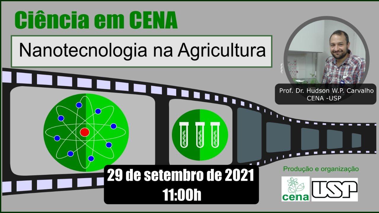 Seminário: Nanotecnologia na Agricultura