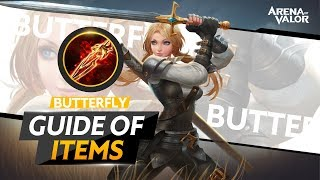 Butterfly + Fenrir's Tooth - Items Guide | Arena of Valor