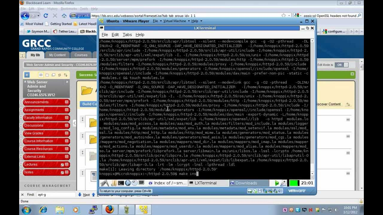 Lecture lab compile apache 2 server with ssl and create ssl lecture lab compile apache 2 server with ssl and create ssl certificates xflitez Gallery