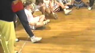 Nickelodeon Super Sloppy Double Dare 1987 Auditions