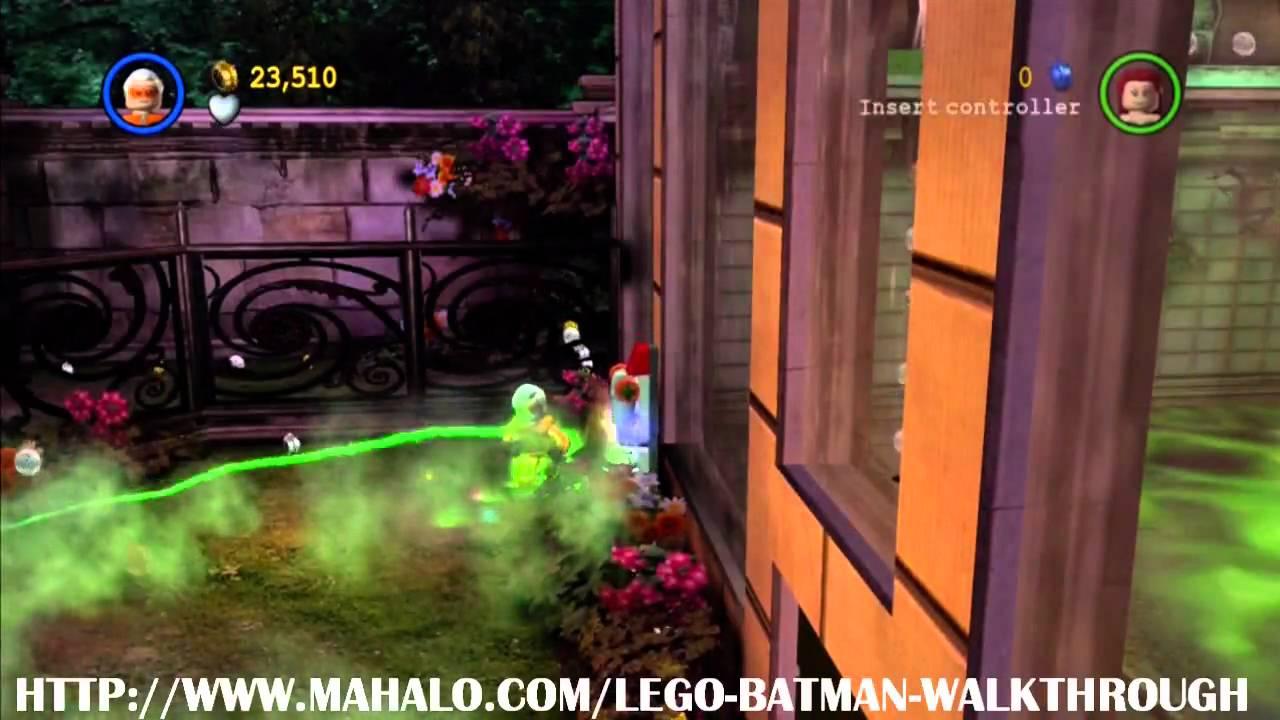 LEGO Batman Walkthrough - Mission 18: Green Fingers - YouTube