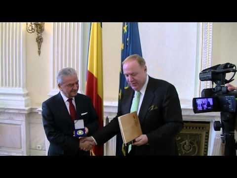 Vrancea Media TV Dumitrescu si Ekrem Demirtas presedinte Camera de Comert Izmir