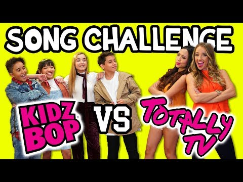 Guess the Song Challenge with Kidz Bop Kids vs Totally TV