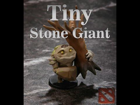 Обзор фигурки героя Tiny из Dota 2