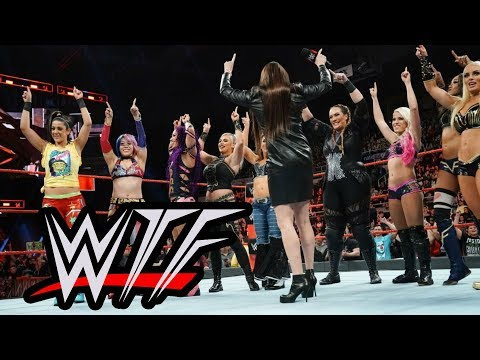 WWE RAW WTF Moments | Women's Royal Rumbles Make Stephanie McMahon A Nice Person