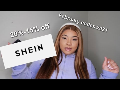 Shein discount codes February 2021 new and working  , Shein promo codes , discount codes