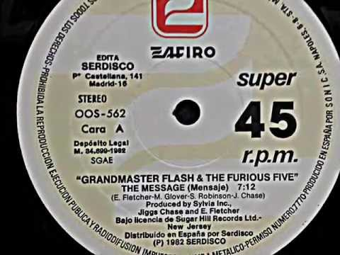 GRANDMASTER FLASH & THE FURIOUS FIVE.