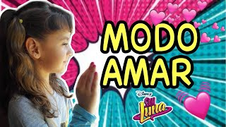 MODO AMAR | SOY LUNA 3 (canciones KARAOKE) Cover Valeria Luis Elenco de SOY LUNA 3