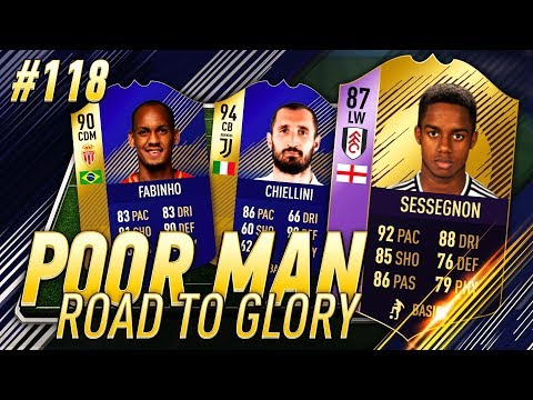 POTY SQUAD BUILDER and TOTS META PLAYERS!!! Poor Man RTG #118 - FIFA 18 TEAM OF THE SEASON