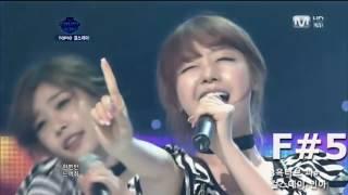 한국 걸그룹 메인보컬의 고음모음 및 옥타브 K-pop Girl group High notes and Octave(Main Vocal)