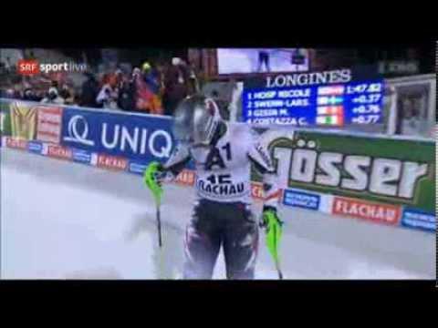 Slalom Flachau 2014 | Nicole Hosp | Run 2 - YouTube