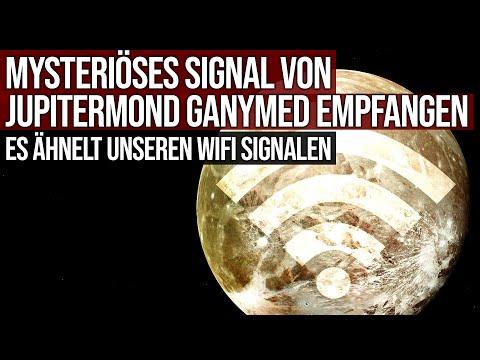 Mysteriöses Signal von Jupitermond Ganymed empfangen - Es ähnelt unseren Wifi Signalen
