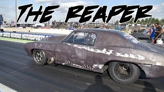 STREET OUTLAWS THE REAPER PUTS IT DOWN AT LIGHTS OUT 9!