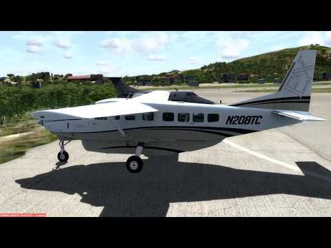 Cessna C208B Grand Caravan EX, Tail# N208TC, by (Carenado).