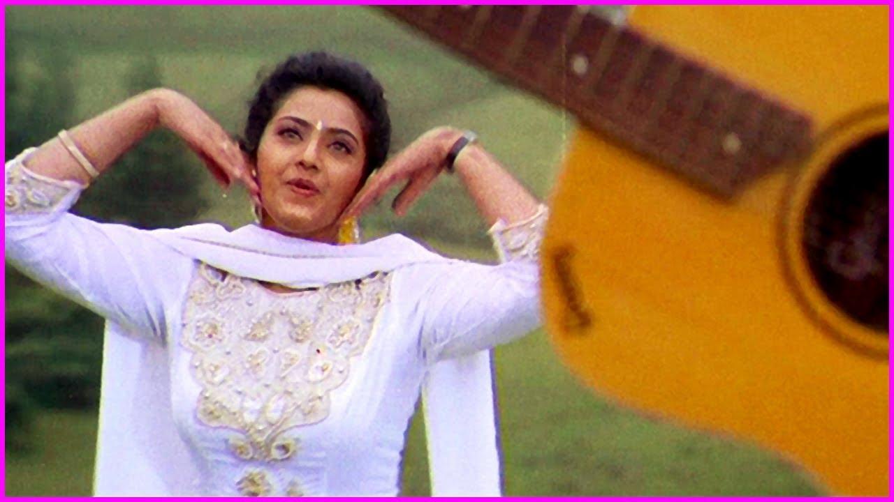Actress Meena Old Super Hit Video Song   Raghupathi IPS Movie Songs
