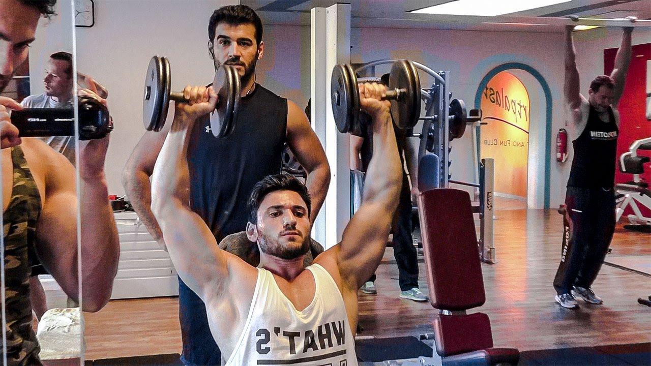 Üst Vücut Antrenman - Yeni Baslayanlar DIKKAT ! Vücut Geliştirme - Shredded Brothers