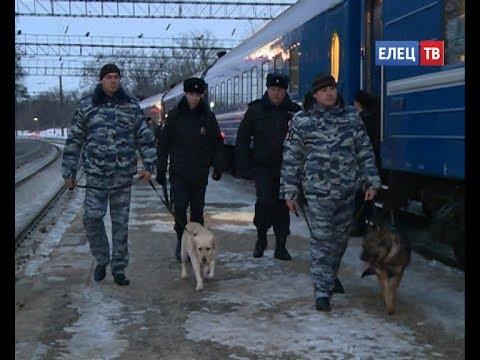 100 лет службы: сотрудники Елецкого линейного отдела МВД России на транспорте отмечают