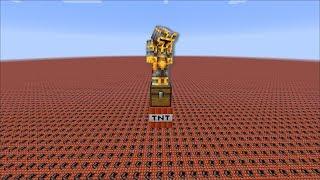 Minecraft UNFAIR TNT IMPOSSIBLE SURVIVAL / SURVIVE THE TNT APOCALYPSE !! Minecraft