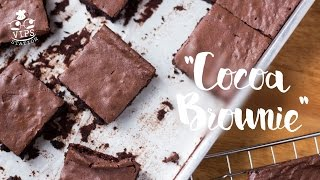 Cocoa Brownie chewy yummy  - [What are we going to do] EP.27