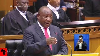 Cyril Ramaphosa Responds To Lekota And Malema Accusations