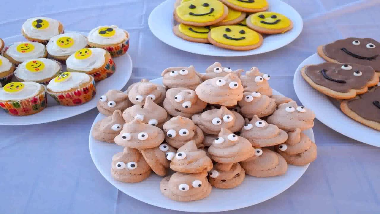 Emoji Themed Birthday Parties