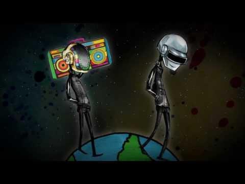 Daft Punk - Around The World (Animated Music Video)