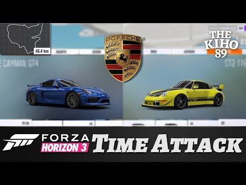 """Forza Horizon 3: Time Attack """"Porschet kaksintaistelussa"""""""