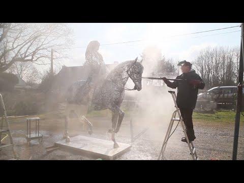 Arc welding Art - Sculpture  - Contemporary art - France - Serge Sangan
