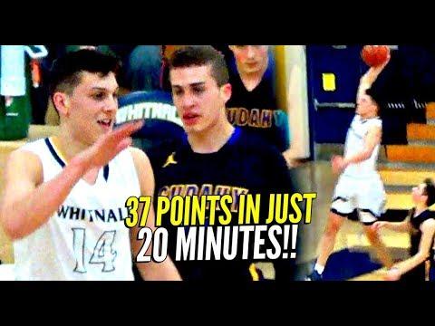 Tyler Herro Goes DUMMY w/ 37 Points in 20 Minutes!! Kentucky\'s Boy Wonder!
