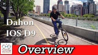 Dahon IOS D9 Overview | Folding Bike Calgary, Alberta, Canada | Montague | Tern | Brompton