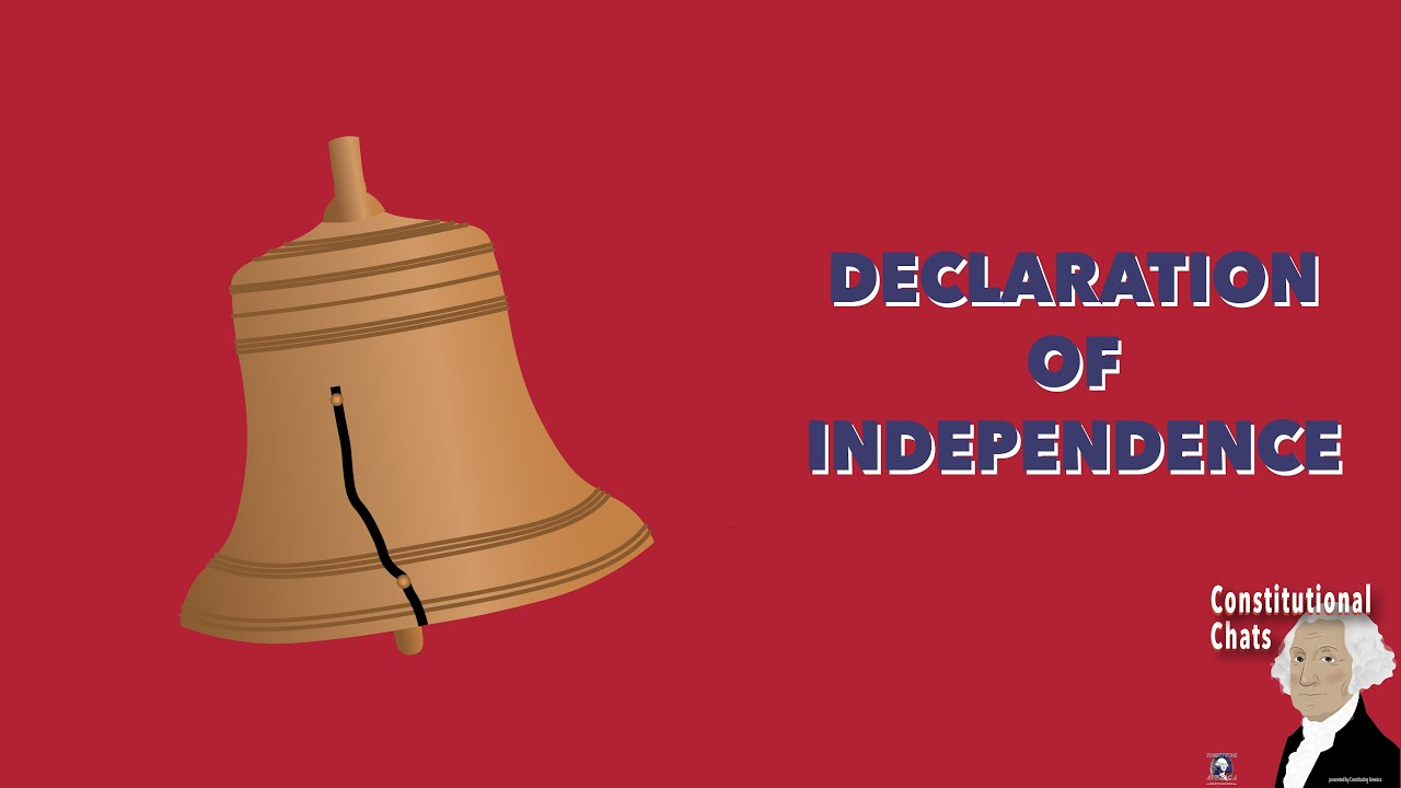 Declaration of Independence (w/ Tony Williams)   Constitutional Chats