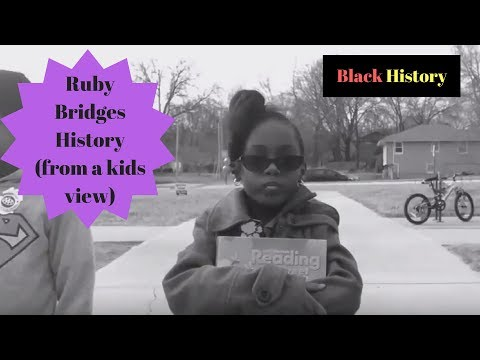 Ms. Trice Black History (Ruby Bridges)