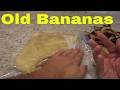 What To Do With Old Bananas-GREAT For Baking