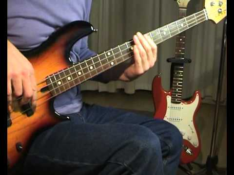 Creedence Clearwater Revival - Suzie Q - Bass Cover