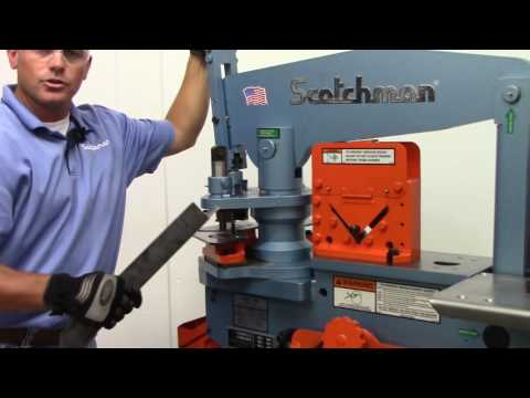 Scotchman 5014ET - 50 ton hydrualic Ironworker - USA made