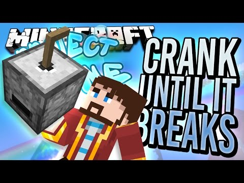 Minecraft - CRANK UNTIL IT BREAKS - Project Ozone #39