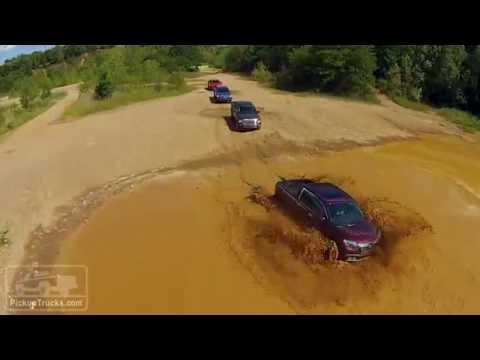 2016 Midsize Pickup Challenge: Quarter-Mile