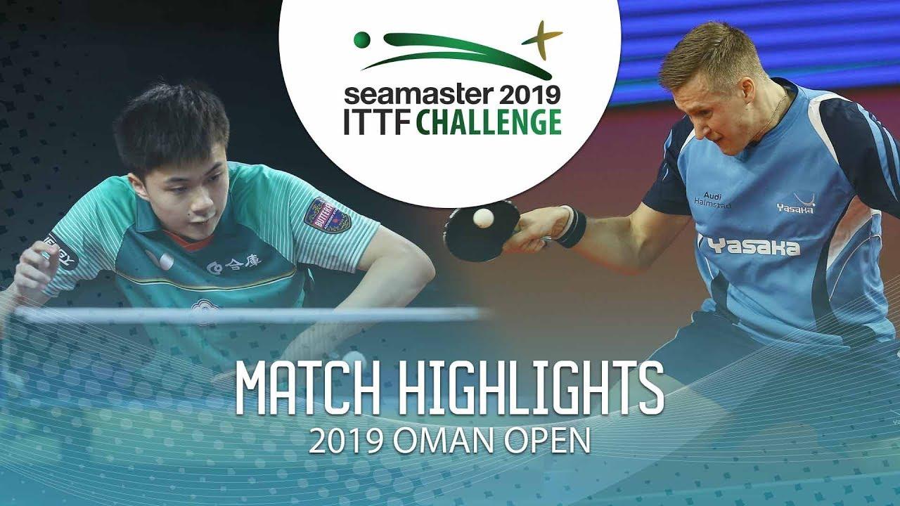 Download Lin Yun-Ju vs Mattias Falck   2019 ITTF Challenge Oman Open Highlights (Final)