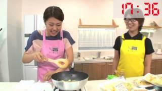 """横澤夏子が""""ポテチレタスチャーハン""""の1分クッキングに挑戦! Y'sキッチ..."""