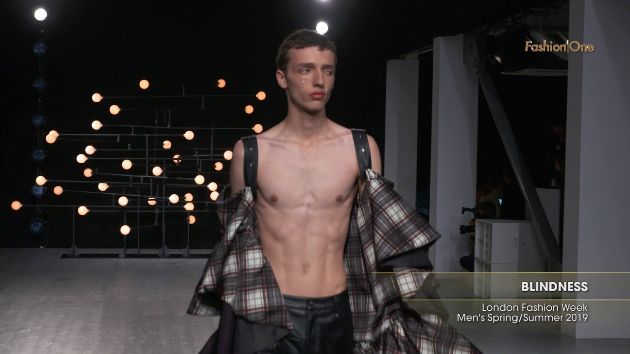 Blindness London Fashion Week Men S Spring Summer 2019 Youtube