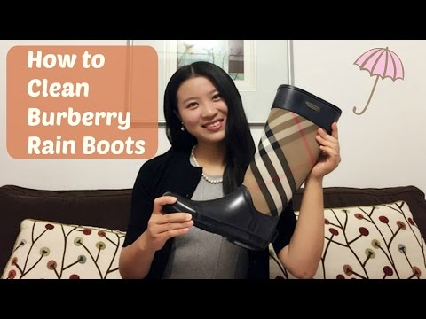 How To Clean And Maintain Burberry Rain Boots