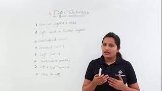 Digital Electronics for GATE