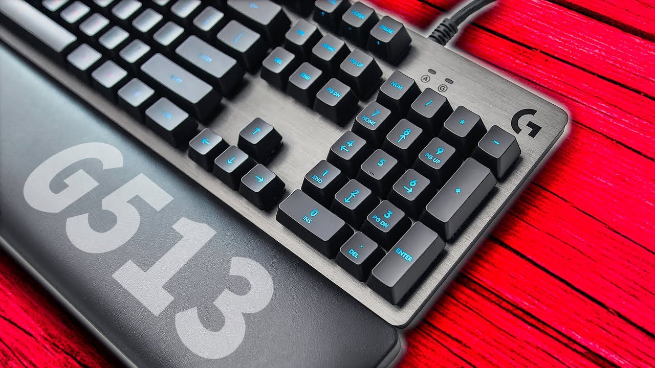 Logitech G513 - A Keyboard With Class AND Comfort!