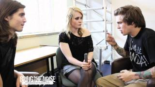 Bring The Noise UK - We Are The Ocean Interviewed at Slam Dunk Festival 2011