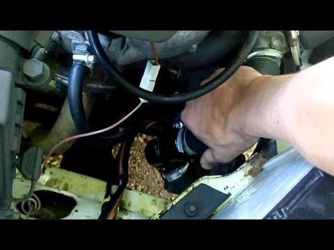 ремонт термостата подручными средствами