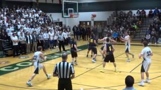 Mike Jastrzebski basket and the foul