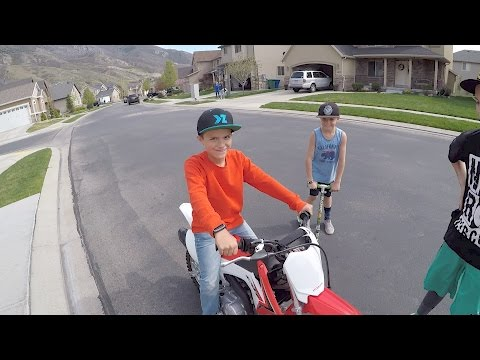 🏍️ SHOULD WE GET OUR KIDS DIRT BIKES?! 🛵